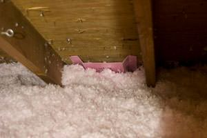 New Insulation installed in Pearland attic